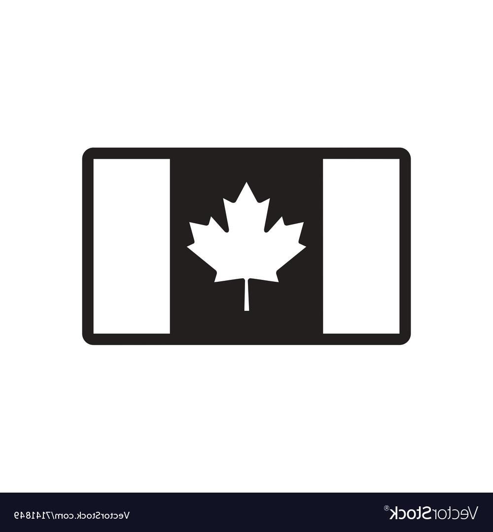 1000x1080 Best Black And White Canada Flag Vector Photos Free Vector Art