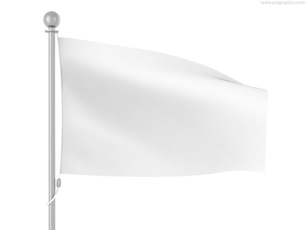 600x450 Blank White Flag Template Vector Graphics My Free Photoshop World