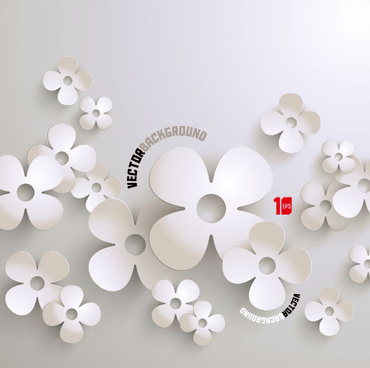 370x368 Free Vector White Flower Free Vector Download (17,345 Free Vector