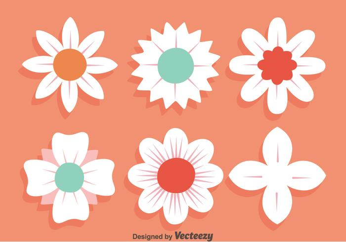 700x490 White Flowers Vectors Free Vector Graphics Everypixel