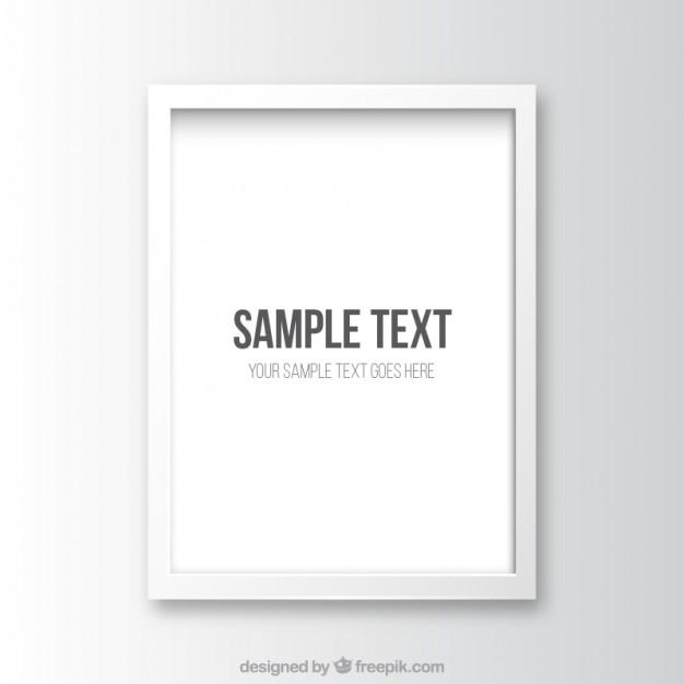 626x626 White Frame Vector