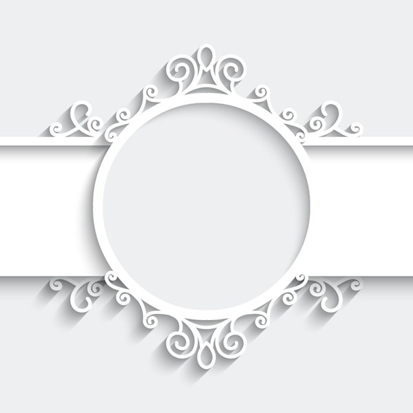 600x600 White Frame Vector Graph Graphics Collection My Free Photoshop