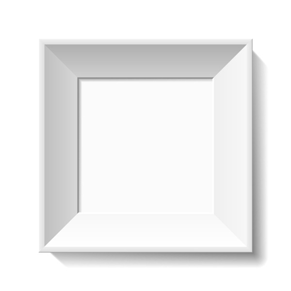 600x600 White Photo Frame Vector Material My Free Photoshop World