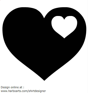 335x355 Collection Of Heart Clipart Black And White Vector High
