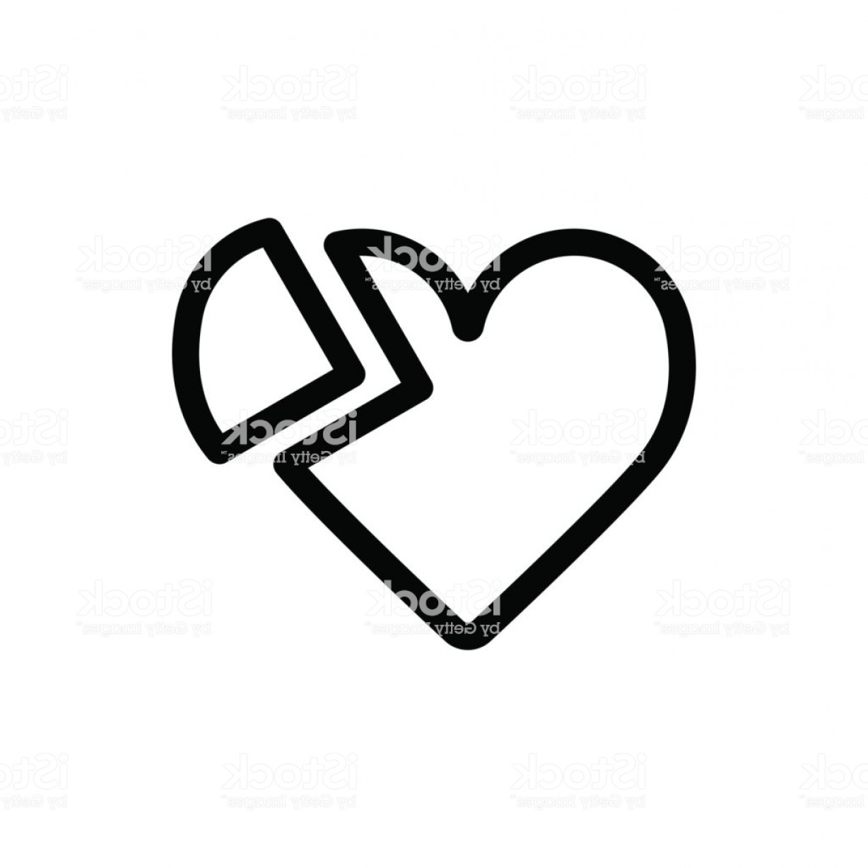 1228x1228 Black And White Heart Vector Graphic Orangiausa