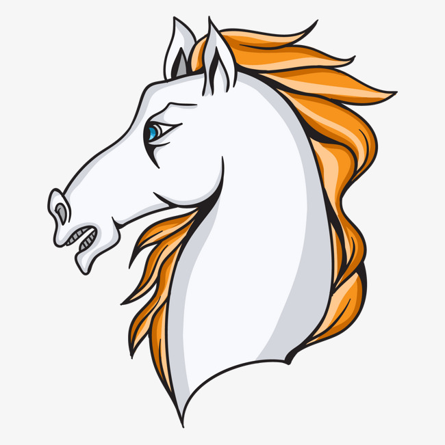 650x651 Vector White Horse Head, Horse Vector, Head Vector, Head Png And