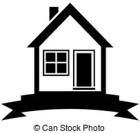 203x194 Black White House Clip Art Vector Graphics. 34,552 Black White