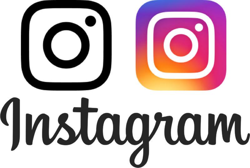 White Instagram Vector