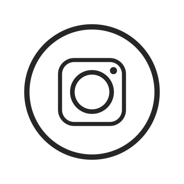 640x640 Instagram Icon, Instagram, Black, White Png And Vector For Free