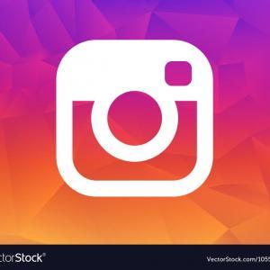 300x300 Photostock Vector Instagram Icon Set Social Media Logo Vector Flat