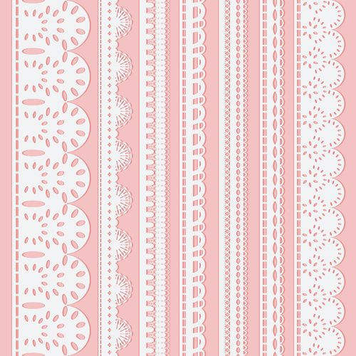 500x500 Different White Lace Borders Vector Artsy Fartsy.