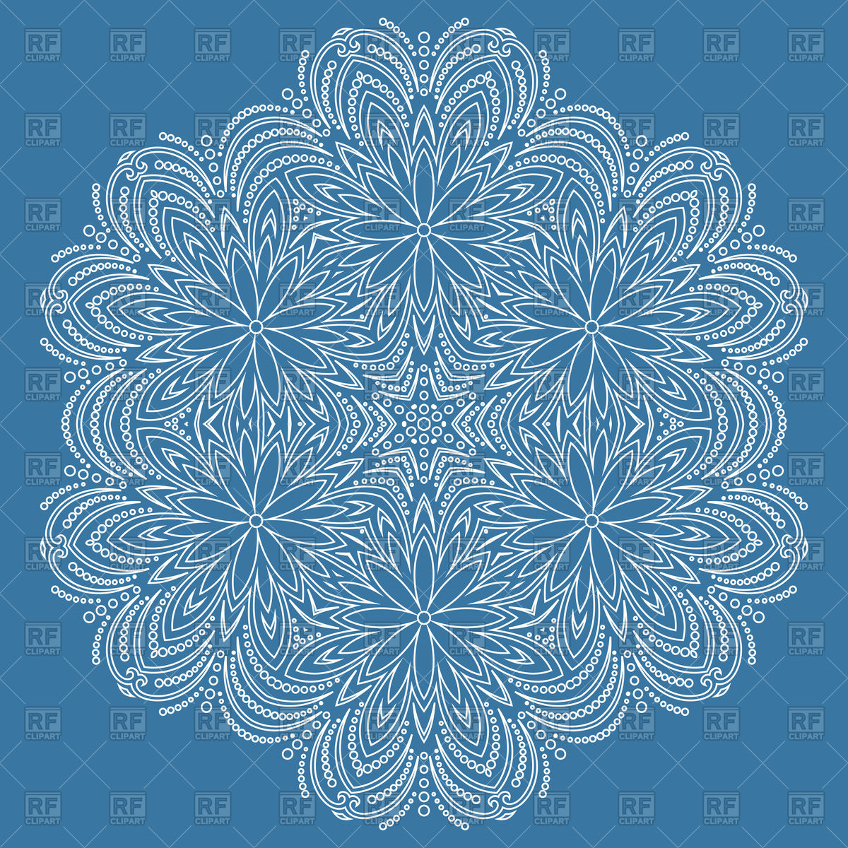 1200x1200 Round White Lace Vector Image Vector Artwork Of Backgrounds
