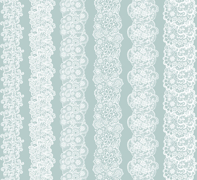 402x368 White Lace Vector Seamless Borders Png Images, Backgrounds And