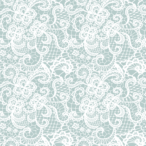 500x500 White Lace Seamless Pattern Background Vector Free Download
