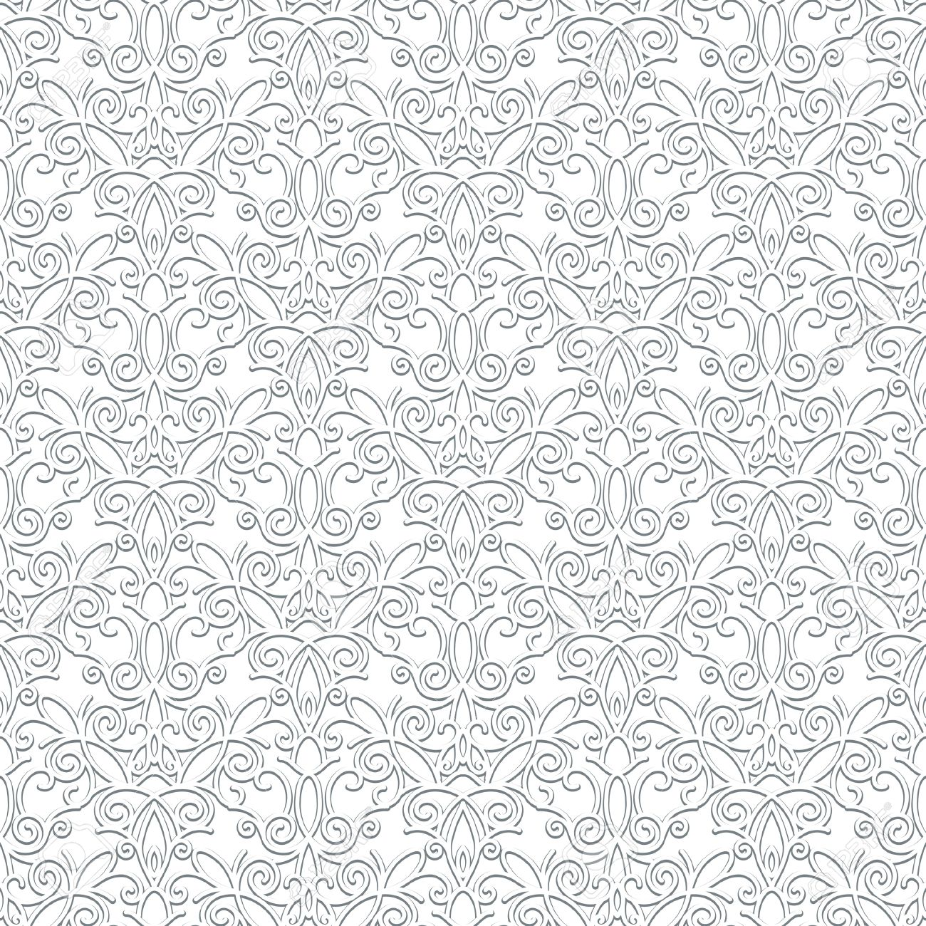 1300x1300 White Lace Vector