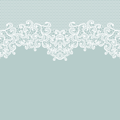 500x500 Elegant White Lace Vector Background 01 Free Download