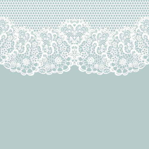 500x500 Elegant White Lace Vector Background 02 Free Download