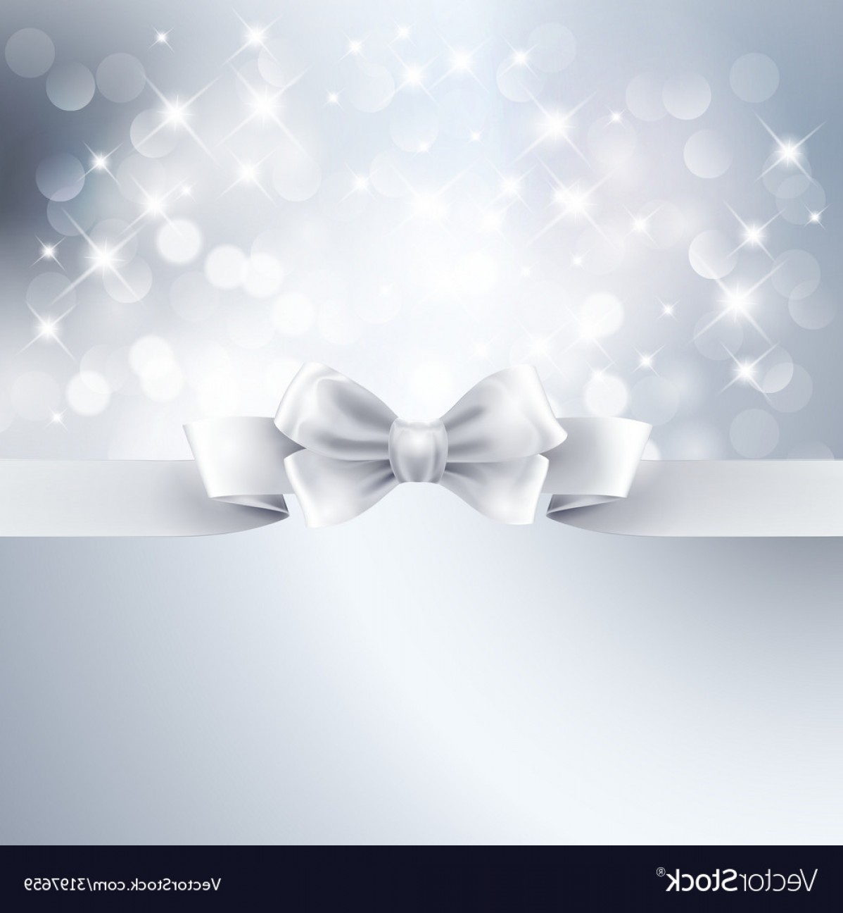 1198x1296 Abstract Silver Light Background With White Ribbon Vector