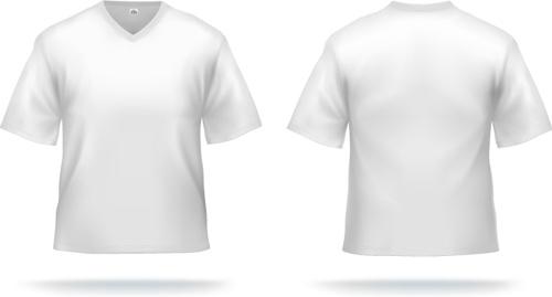 500x269 White Shirt Template Labzada T Shirt