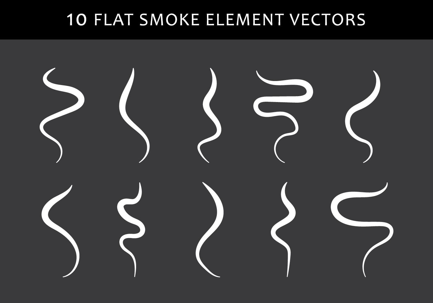 1400x980 Smoke Free Vector Art