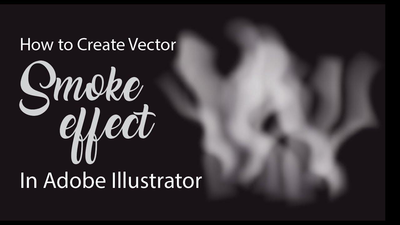 1280x720 Smoke Vector Illustrator Tutorial