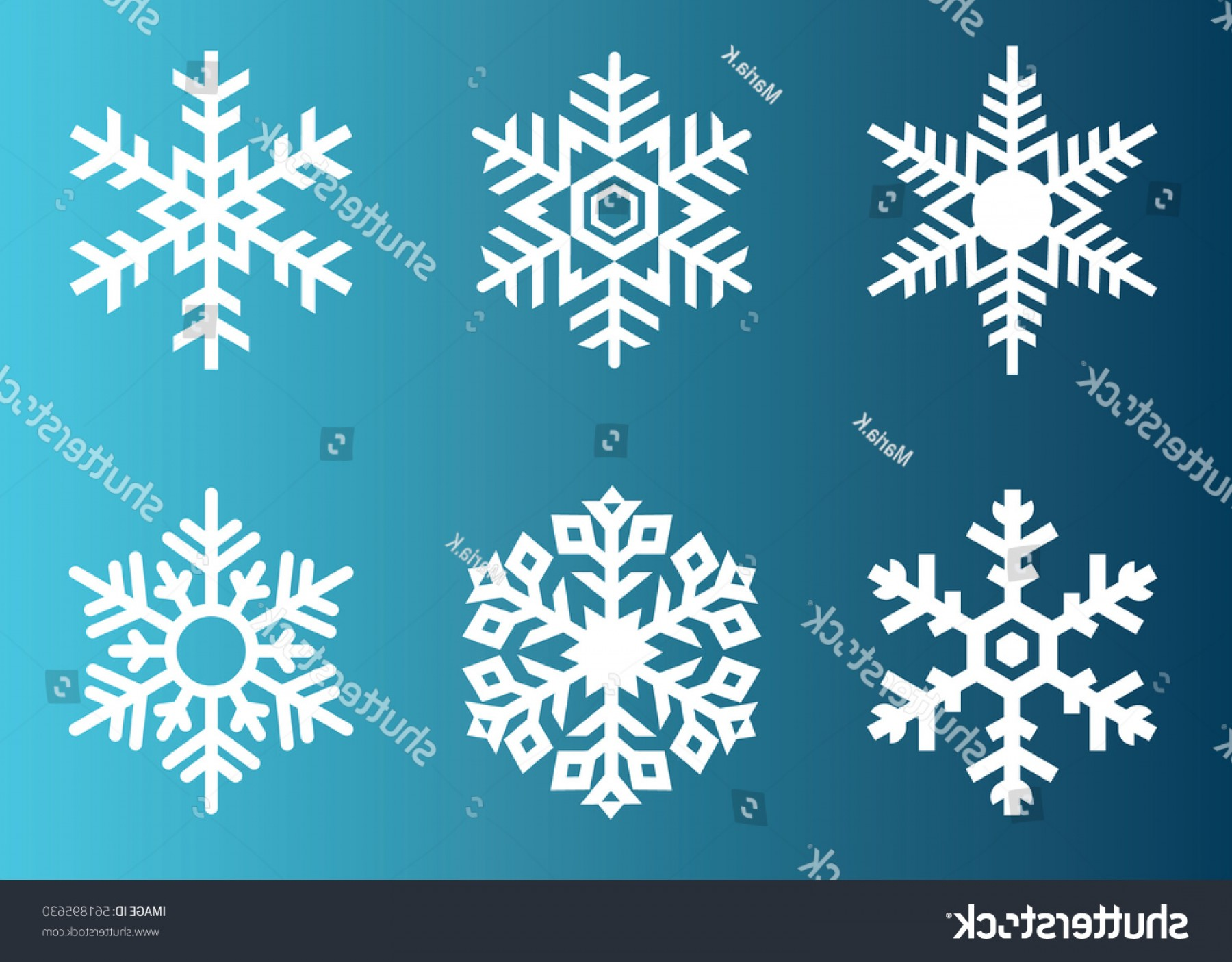 1800x1405 Snowflake Vector Icon Background Set White Shopatcloth