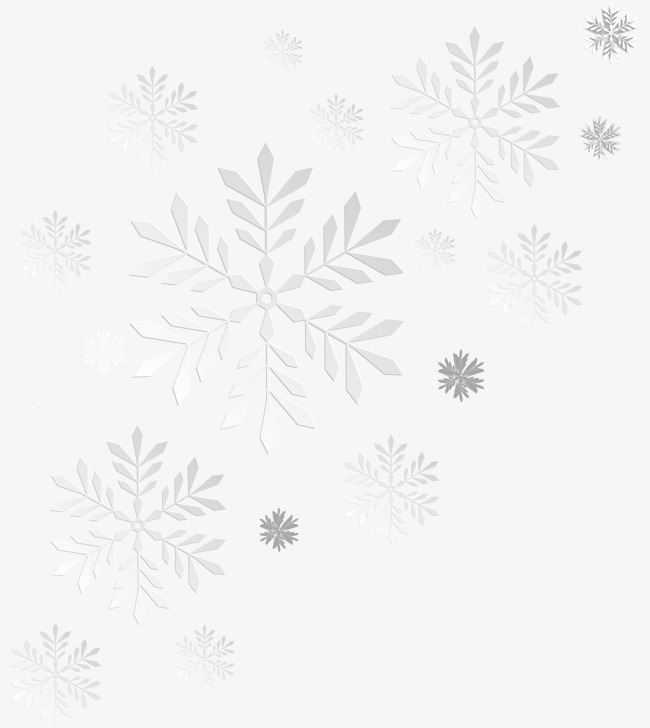 650x728 White Snowflake Decoration Vector, Snowflake, White, Float Png And