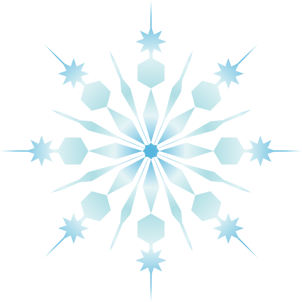 600x600 Download Black And White Snowflake