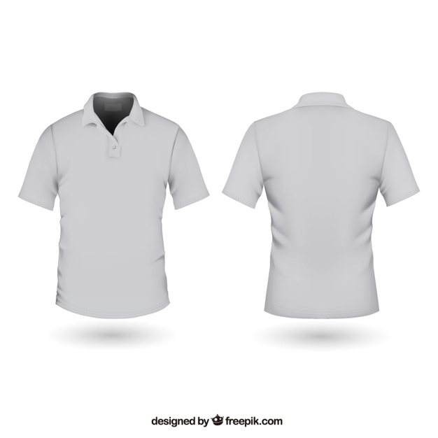 626x626 Polo Shirt Vector Free Download