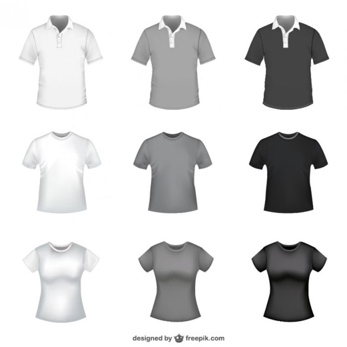 700x700 82 Free T Shirt Template Options For Photoshop And Illustrator