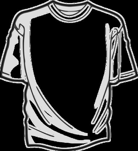 458x500 White T Shirt Vector Image Public Domain Vectors