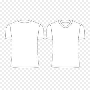 300x300 Blank T Shirt Template White T Shirt Vector Shopatcloth