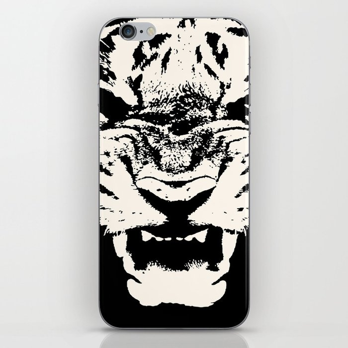 700x700 White Tiger Vector Iphone Skin By Taiche Society6