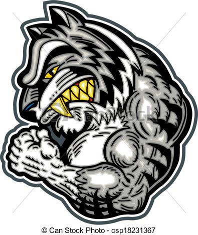 395x470 White Bengal Tiger Mascot.