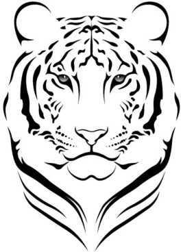 264x368 White Tiger Free Vector Download (7,835 Free Vector) For