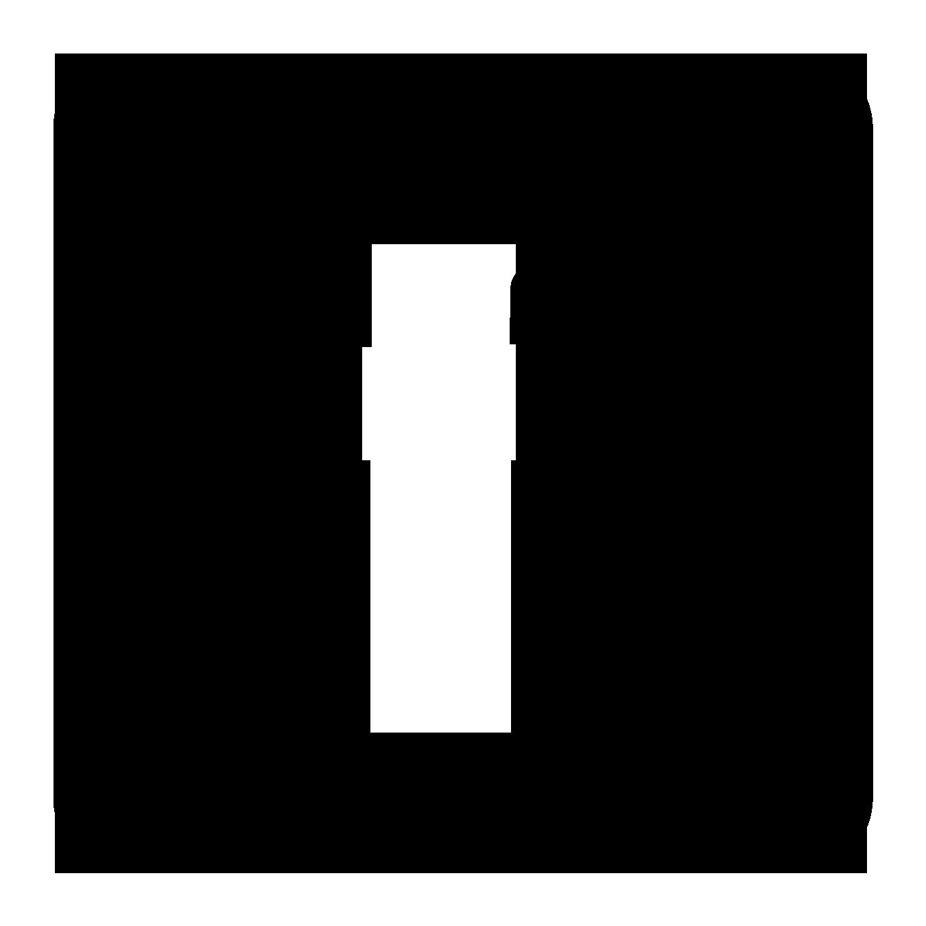 1350x1350 Twitter Logo White Vector