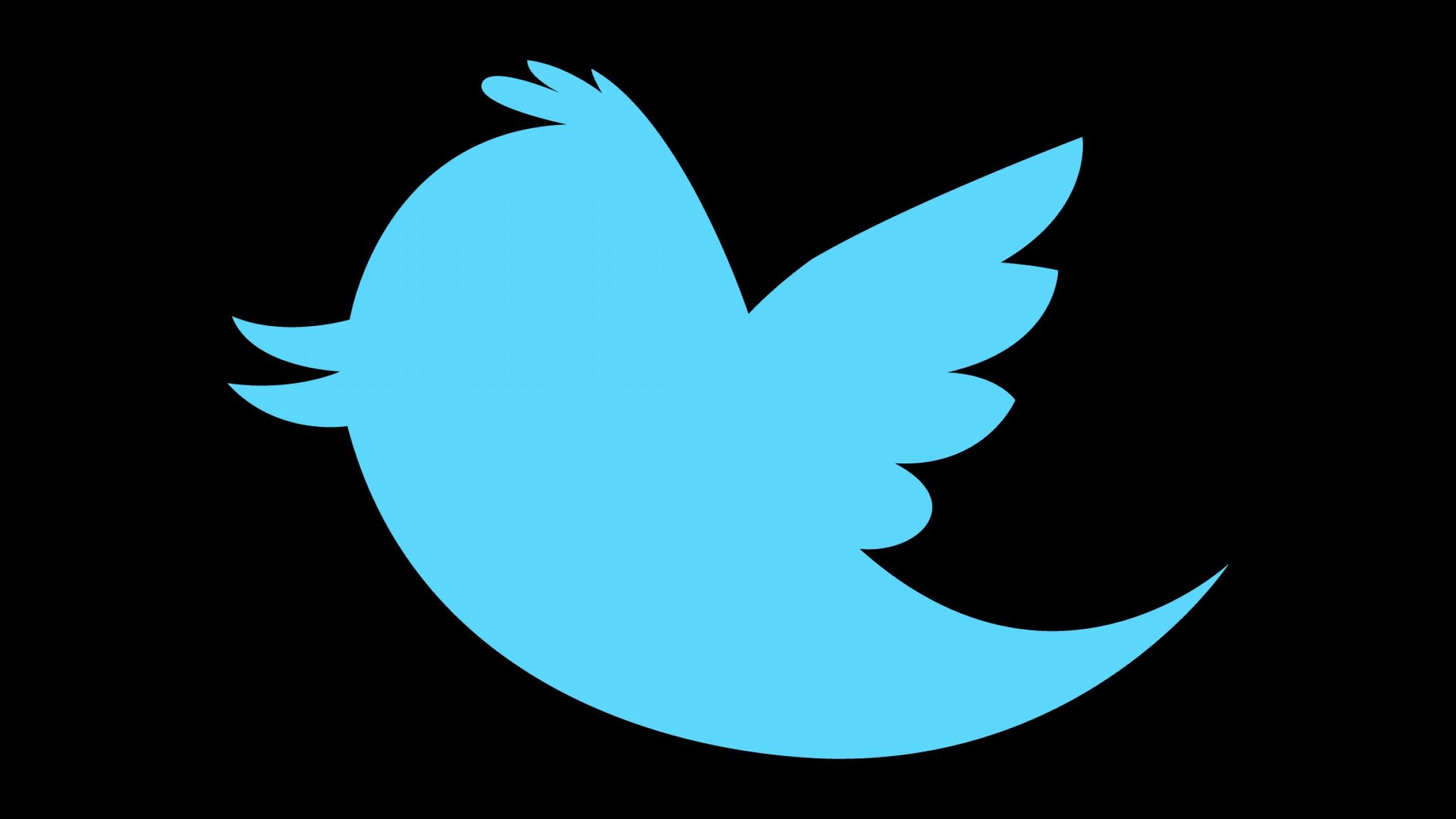 2304x1296 Twitter Logo Clip Download Free