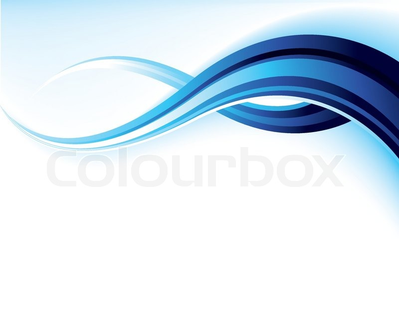 800x672 Abstract Wavy Vector Design In Blue And White Stock Vector