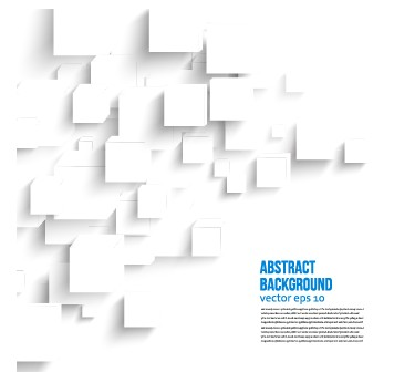 356x346 Abstract White Square Background Vector
