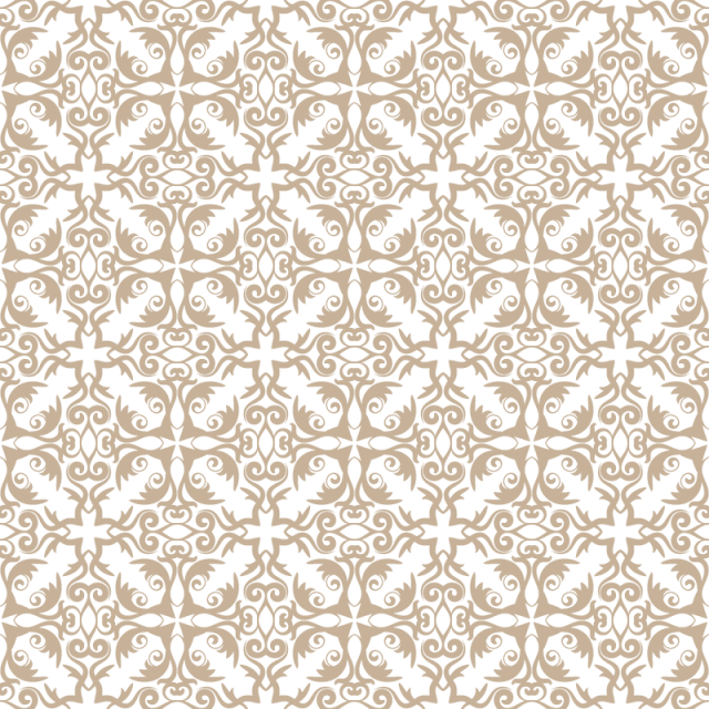 640x640 Floral Pattern. Wallpaper Baroque, Damask. Seamless Vector