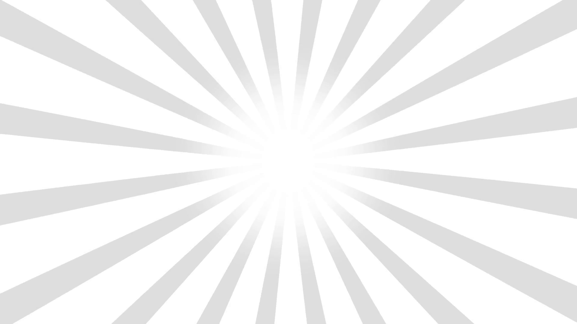 1920x1080 White And Gray Burst Vector Background. Cartoon Comic Background