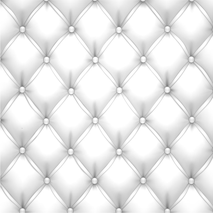 700x700 White Vector Upholstery Leather Pattern Background. Poster