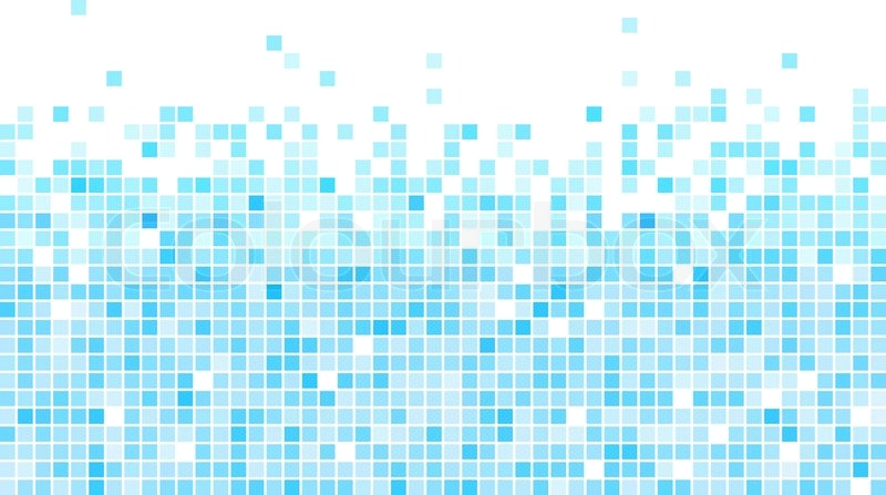 800x447 Abstract Blue Mosaic Vector Background With White Copy Space