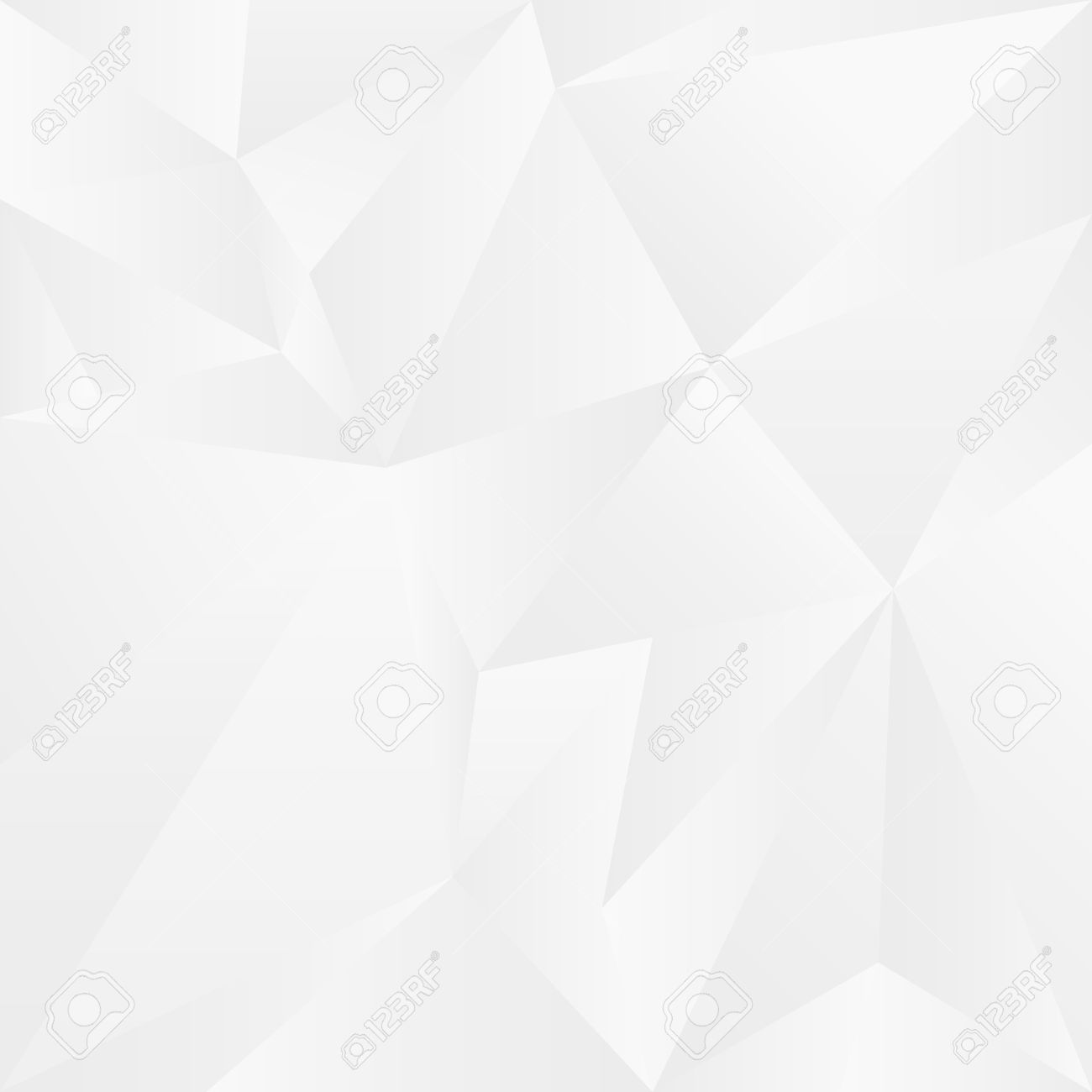 1300x1300 Abstract White Geometric Background. Vector Illustration