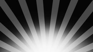 320x180 Black And White Burst Vector Background. Cartoon Comic Background