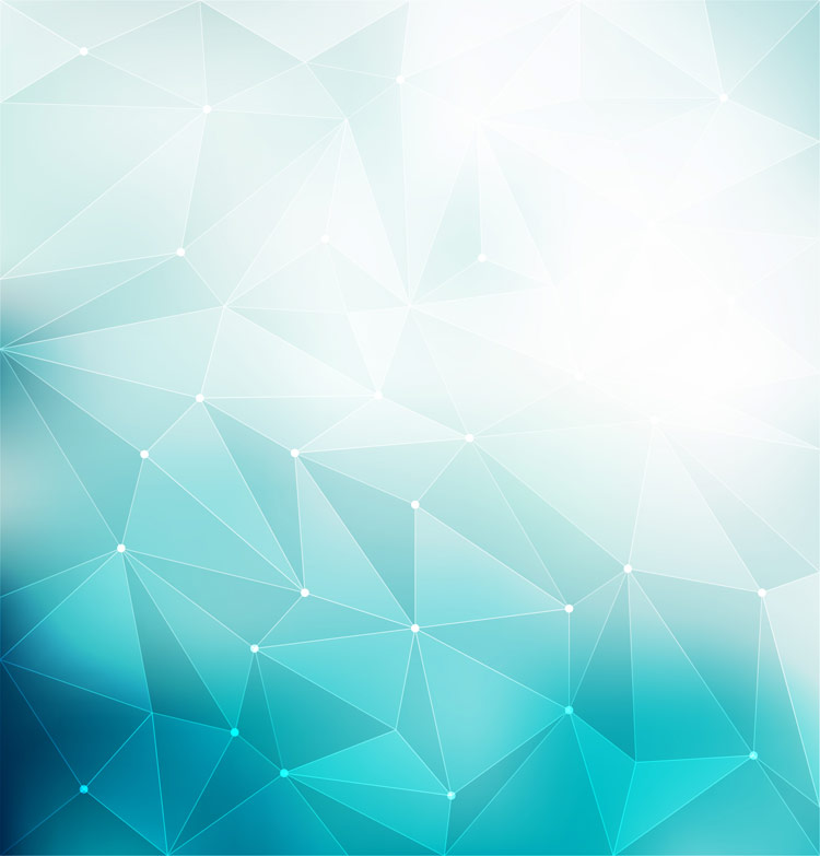 750x783 Blue Polygonal Background Vector Free Download