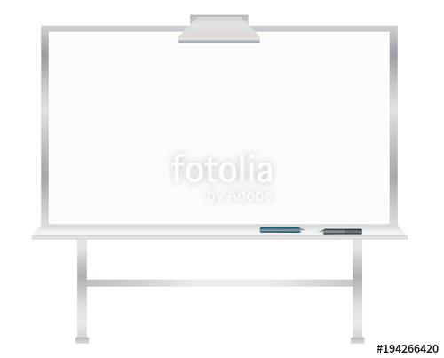 500x403 Interactive Whiteboard Vector Stock Image And Royalty Free Vector