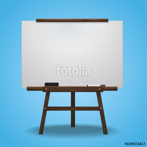 500x500 Whiteboard Vector Illustration Stock Image And Royalty Free