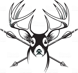260x242 Download Whitetail Deer Vector Clipart Reindeer White Tailed Deer