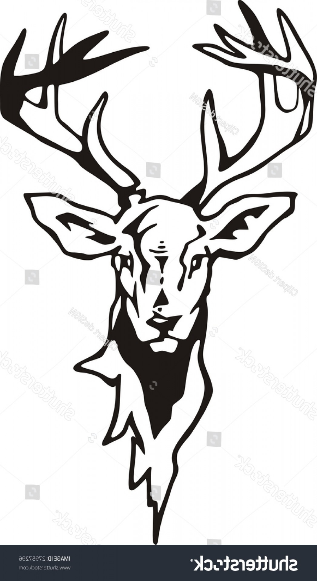 1046x1920 Tribel Art Whitetail Deer Vector Arenawp